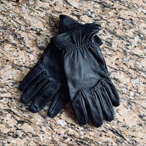 ISOTONER SmarTouch Stretch Leather Tech Gloves